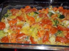 Nudel-Gemüse  Auflauf - Rezept