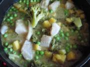 Grünes Fisch-Curry - Rezept