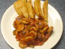 Currywurst-Ragout - Rezept
