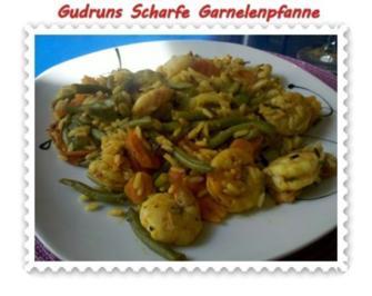 Fisch: Scharfe Garnelenpfanne - Rezept