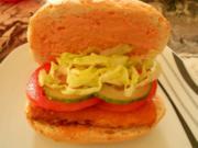 Superkochhasi´s Fischburger mit hausgemachter Sauce - Rezept