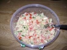 Couscous Salat - Vegetarisch - Sommersalat - Rezept