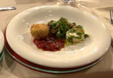 Spinatsalat mit Ziegenkäse à la Kleeberg - Rezept