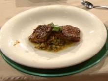 Medaillons vom Roastbeef mit Orangen-Linsen-Salat (Laith Al-Deen) - Rezept