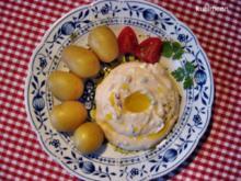 Weißkäse mit Leinöl und Pellkartoffeln - Rezept