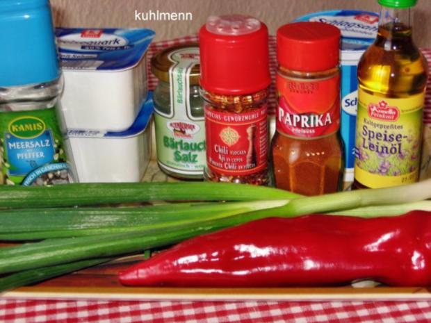 Weißkäse mit Leinöl und Pellkartoffeln - Rezept - Bild Nr. 2