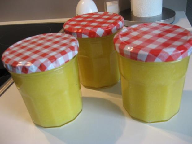 Lemon Curd Creme - Rezept