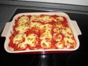 Reisauflauf Tomate-Mozzarella - Rezept