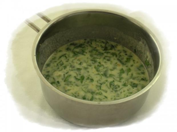 Spinatknödel mit Bärlauch-Gorgonzolasauce - Rezept - Bild Nr. 11