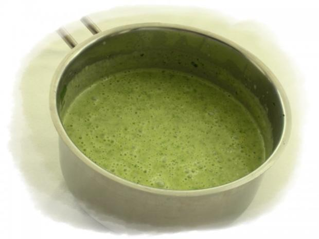 Spinatknödel mit Bärlauch-Gorgonzolasauce - Rezept - Bild Nr. 12