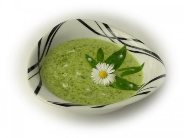 Spinatknödel mit Bärlauch-Gorgonzolasauce - Rezept - Bild Nr. 13