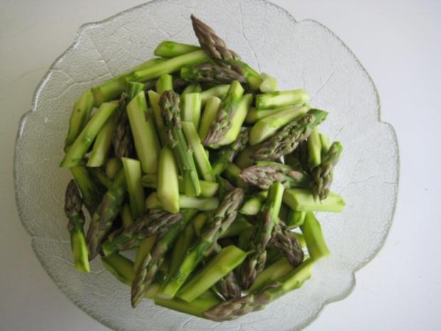 Spargel - Melonen - Salat - Rezept - Bild Nr. 8