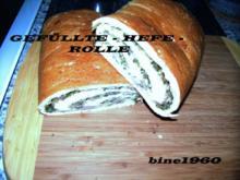 GEFÜLLTE  -  HEFE  -  ROLLE - Rezept