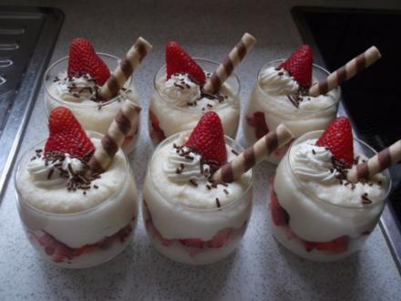 Erdbeer-Grießbrei - Rezept
