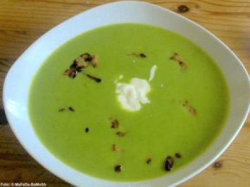 Erbsen-Creme-Suppe - Rezept