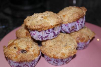 Bananen-Muffins mit leckerer Zimt-Kruste - Rezept