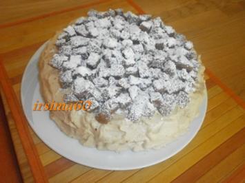 Eiskaffee – Sahne – Torte - Rezept