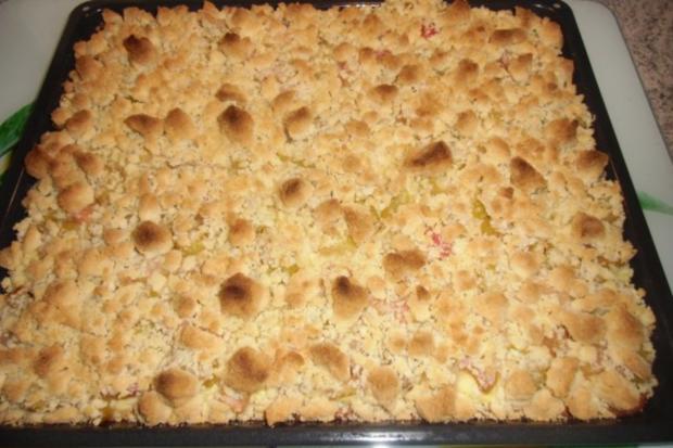 ❤ Rhabarberkuchen ❤ - Rezept - Bild Nr. 4