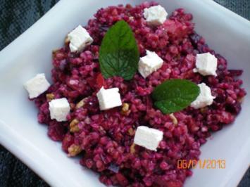 Salat. Buchweizensalat - Rezept