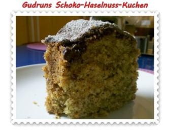 Kuchen: Schoko-Haselnuss-Kuchen - Rezept