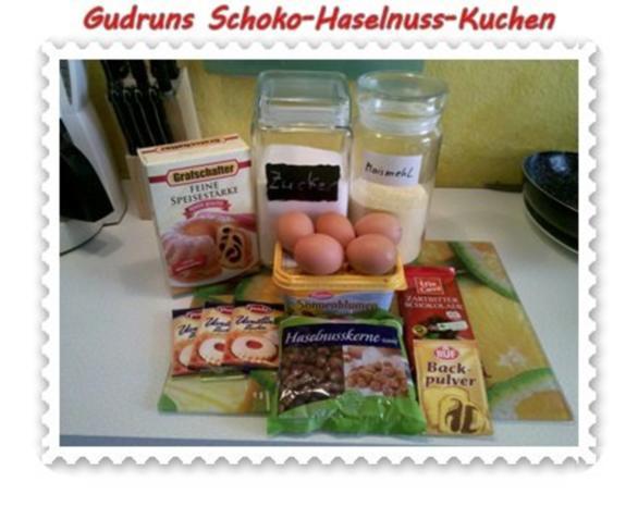 Kuchen: Schoko-Haselnuss-Kuchen - Rezept - Bild Nr. 2