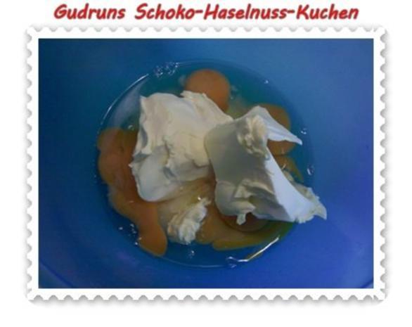 Kuchen: Schoko-Haselnuss-Kuchen - Rezept - Bild Nr. 3