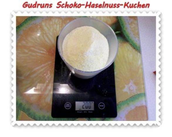 Kuchen: Schoko-Haselnuss-Kuchen - Rezept - Bild Nr. 8