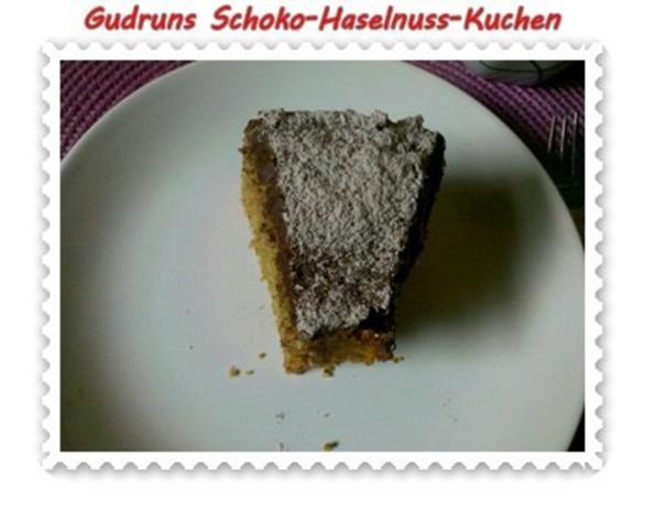 Kuchen: Schoko-Haselnuss-Kuchen - Rezept - Bild Nr. 21