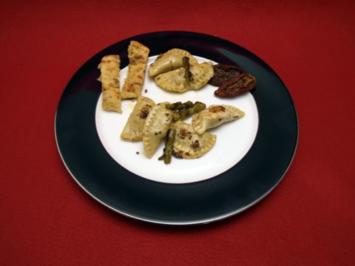 Steinpilzravioli in karamellisierter Pfefferbutter - Rezept
