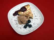 Brooklyn-Cheesecake mit Chocolate-Chip-Cookie-Dough-Icecream - Rezept