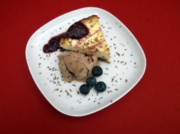Rezept: Brooklyn-Cheesecake mit Chocolate-Chip-Cookie-Dough-Icecream