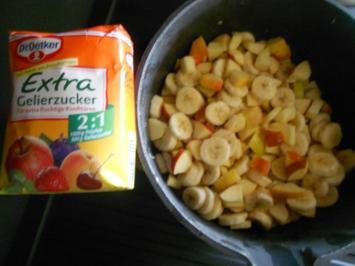 Rezept: Bananen - Apfel - Marmelade