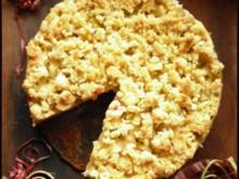 Rhabarberkuchen mit Streuseln - Rezept