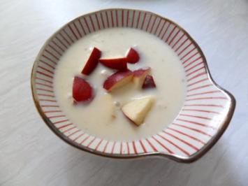Rezept: Apfel-Meerrettich-Süppchen