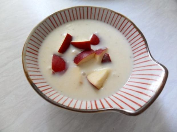 Apfel-Meerrettich-Süppchen - Rezept