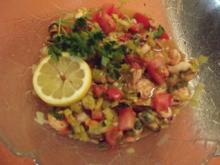 Salat aus Meeresfrüchten - Rezept