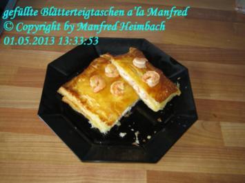 Fingerfood – gefüllte Blätterteigtaschen a'la Manfred - Rezept