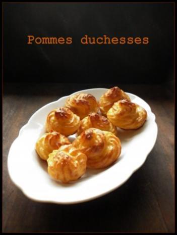 Pommes duchesses und Kohlrabi-Erbsen-Gemüse - Rezept - Bild Nr. 2
