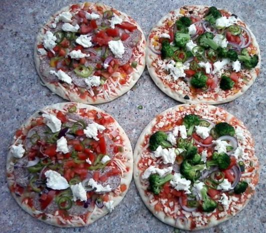 Pizza Hut  /  Pizzateig - Rezept - Bild Nr. 2