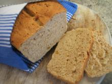 Brot/Brötchen: Weißbrot mit Pinienkernen und Malzbier - Rezept