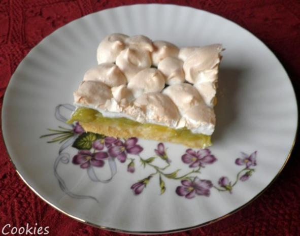 Baiser - Rhabarber - Kuchen ... - Rezept - Bild Nr. 2