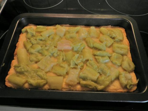 Baiser - Rhabarber - Kuchen ... - Rezept - Bild Nr. 9