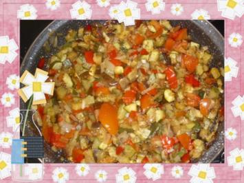 Auberginen-Zucchini-Ragout - Rezept
