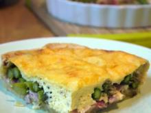 Grüne-Spargel-Ziegenkäse-Tarte - Rezept
