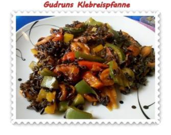 Rezept: Gemüse: Klebreispfanne mit Gemüse