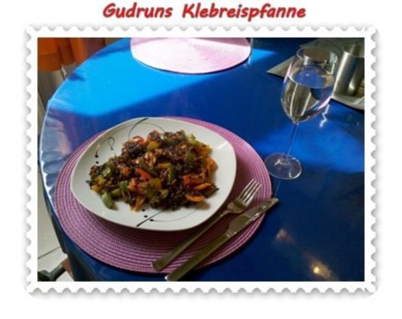 Gemüse: Klebreispfanne mit Gemüse - Rezept - Bild Nr. 13