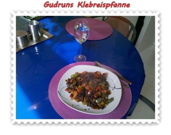 Gemüse: Klebreispfanne mit Gemüse - Rezept - Bild Nr. 12