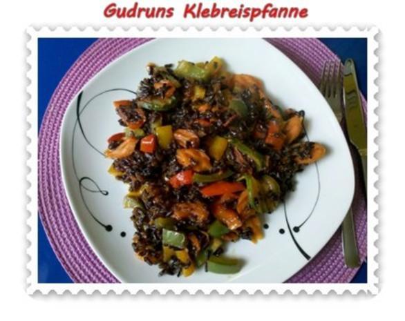 Gemüse: Klebreispfanne mit Gemüse - Rezept - Bild Nr. 15