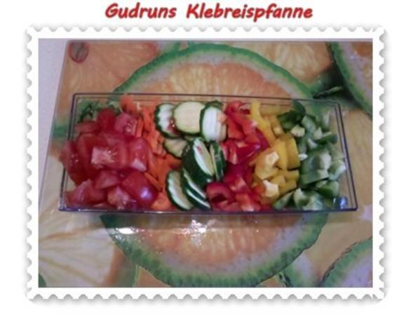 Gemüse: Klebreispfanne mit Gemüse - Rezept - Bild Nr. 6