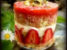 Erdbeer-Rhabarber-Törtchen - Rezept